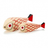 Vitra Wooden Doll Mother Fish & Child - Intera