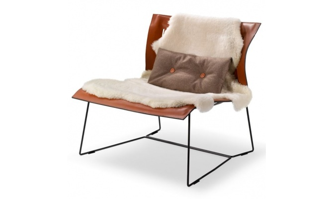 Walter Knoll Cuoio Lounge tool - Intera